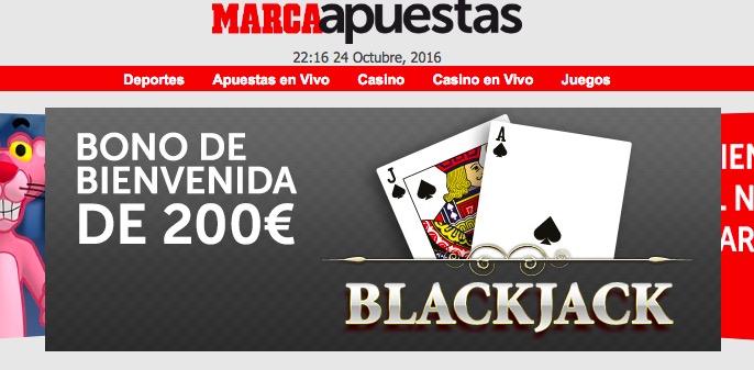 Marca Casino bono 200 euros