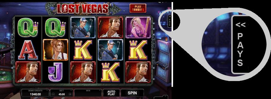 Logros tragaperras Lost Vegas