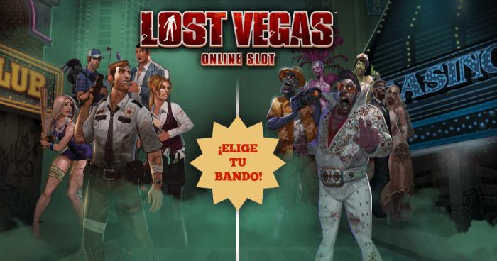 Promoción tragaperras Paf Lost Vegas