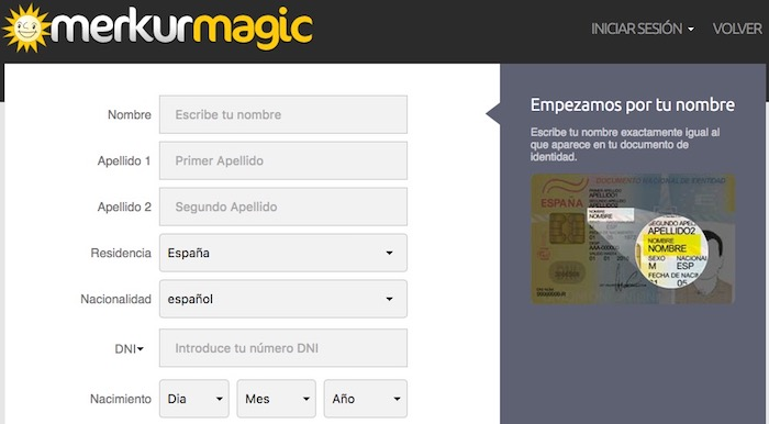 registrarse en Casino merkurmagic