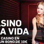 Bono casino en vivo Betfair