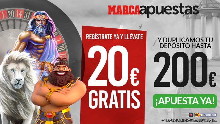Código de cupón MARCA Casino: JUEGAMC