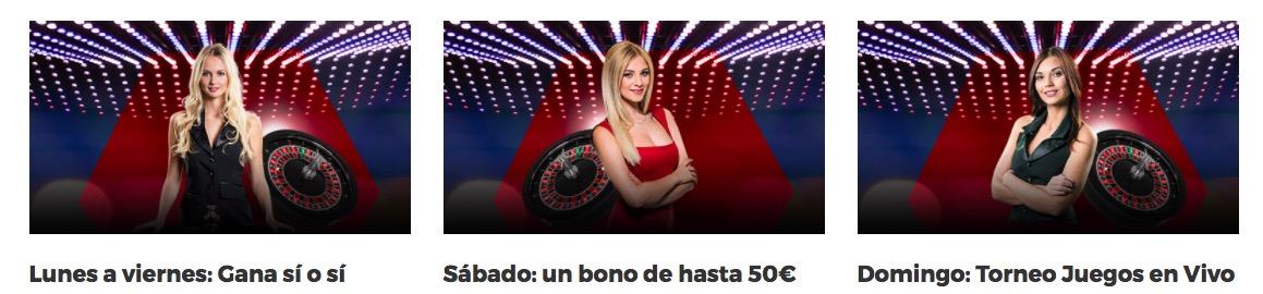 Bono StarCasino casino en vivo