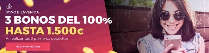 Bono de bienvenida Casino Gran Madrid Online