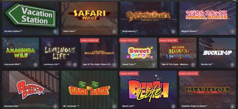 Betfair slots arcade