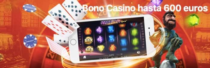 Bono bienvenida Betsson Casino